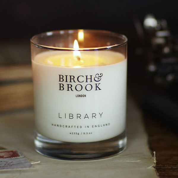 librarycandle